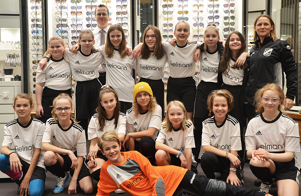 Mädchenfußball Förderung beim FV Preußen D-Juniorinnen