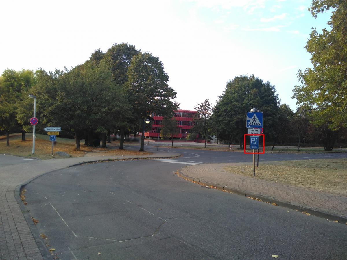 Siegburger Straße Anfahrt Parkplatz